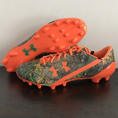 85b0707f782aa Under Armour Spotlight Limited Real Tree Camouflage Football Cleats Mens 13