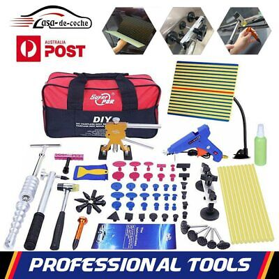 78pc PDR Tools Paintless Dent Repair Glue Puller Lifter  T Bar Hammer Removal SA