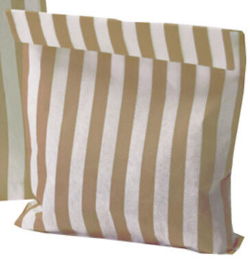Sweet Sweets, Sweety, Gold / White Striped Candy Bags Great For Weddings ⭐⭐⭐⭐⭐