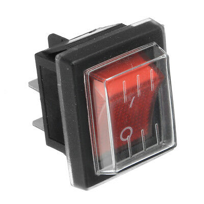 220V16A 20A 125V ON/OFF Red Switch Spare Waterproof Switch For Industrial Vacuum