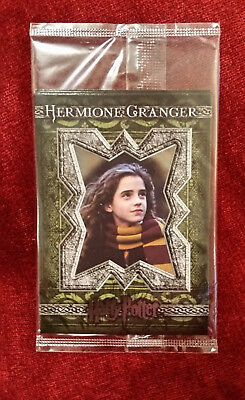 Harry Potter Artbox Trading Card Chamber of Secrets 4-Pack Hermione Granger Top