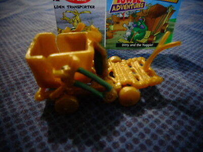 Yowies Series 7 GOLDEN TRANSPORTER *  YUGGIE * LIMITED EDITION
