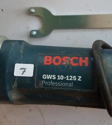 Bosch 1000w GWS 10-125 Z 125mm German made powerful angle grinder twin switch