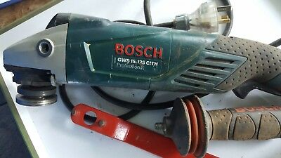 Bosch GWS 15-125 CITH 125mm 1500w  wire brush grinder variable speed #2