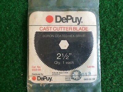 "DuPuy  2.5"" Cast Cutter Saw Blade Boron Coated  Hex Or Pin Drive NEW"