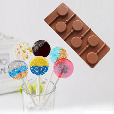 Silicone Lollipop Cake Chocolate Soap Pudding Jelly Candy Cookie Mold In UK
