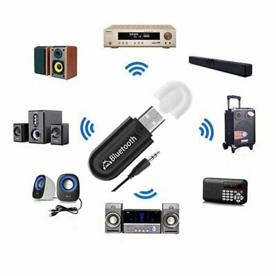 USB 3.5mm Wireless Adapter Dongle Bluetooth 4.0 Audio Stereo Receiver for PC Car
