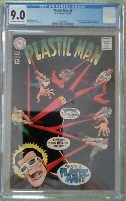 Plastic Man #8 (Jan-Feb 1968, DC) 9.0 VF/NM CGC