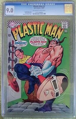 Plastic Man #5 (Jul-Aug 1967, DC) 9.0 VF/NM CGC