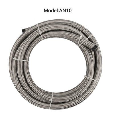 AN4/AN6/AN8/AN10 Flexible 1 Meter Nylon Braided Fuel Hose Heat resistant TOP