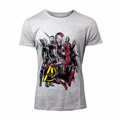 Official MARVEL COMICS  Avengers T SHIRT Infinity War Characters Quality Gift