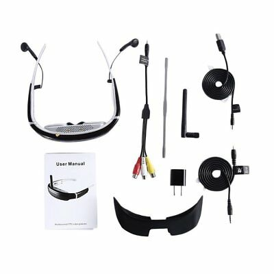 "68"" FPV Goggles 3D Video Glasses 5.8G 40CH Receiver for 250/F210 Racing Drone TP"