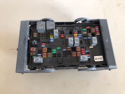 automotive gm oem electrical fuse relay junction block old fuse box wiring fuse gm box 25888290 #15