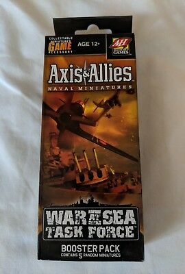 Axis & Allies Naval Miniatures War At Sea Task Force Game Booster Pack