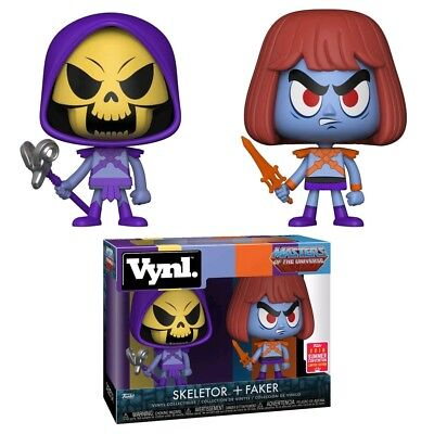 Masters of the Universe - Skeletor & Faker SDCC 2018 US Exclusive Vynl.
