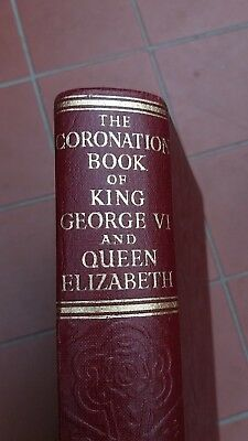 The Royals Coronation Book of King George V1 & Queen Elizabeth