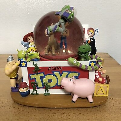 Disney's Toy Story Andy's Toy Box Snow Globe Not Working.