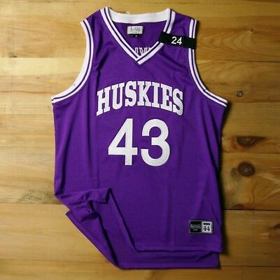 287a7df230b Kenny Tyler  43 The 6th Man Movie 1997 Huskies Official Stitch Basketball  Jersey