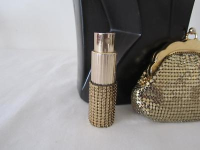 Vintage GLOMESH Gold PERFUME ATOMIZER Collectable