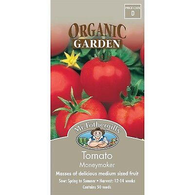 Mr Fothergill's Organic Tomato -NEW SEALED