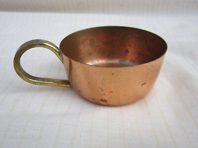 Copper Cooks Measure Cup Cookware Display Vintage Retro