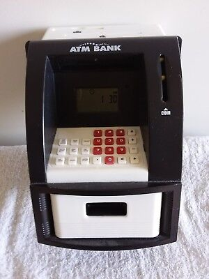 ATM Bank Money Box Used Working