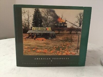 AMERICAN PROSPECTS By Joel Sternfeld - First Edition 1987 Hardcover