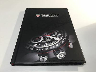 Brand New TAG Heuer Hardcover catalog 2016-2017 Hardcover Book Format