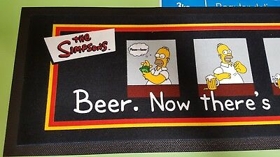 The Simpsons Bar Mat - New - Just been stored for so long - Check my other items