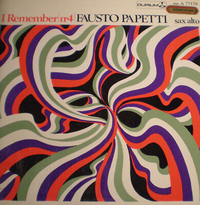 FAUSTO PAPETTI - I REMEMBER No 4 - 1st PRESS - IT 67 - 1st PRESS - NM