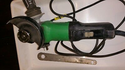 Hitachi 1430w 125mm G13YC2 power angle grinder +spanner freepost $400+ new