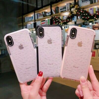 Cute Clear Shockproof Soft Silicone Case For iPhone 11 Pro Max 7 8Plus XS Max XR