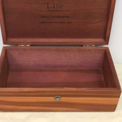 VINTAGE LANE CEDAR CHEST MINIATURE TRINKET BOX Braslau Furniture Company TX