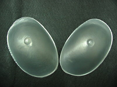Silicone Breast Gel Pad Nu Fashion Bra Inserts Padding Forms Set Chicken Fillets