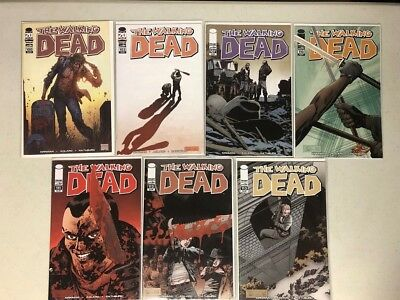 The Walking Dead Comic Book Issues Lot! #100, 103, 107, 110, 111, 112, 113!