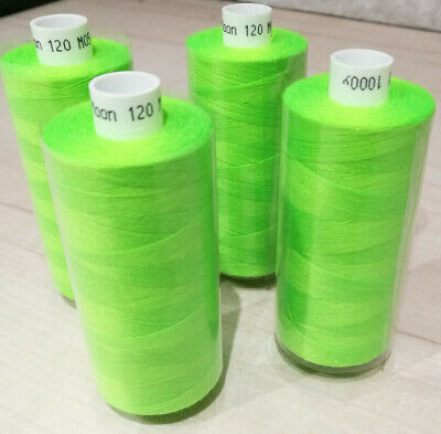 Coats Moon Polyester Sewing Thread cotton BUY 1 GET 1 FREE Neon, Florescent 80's