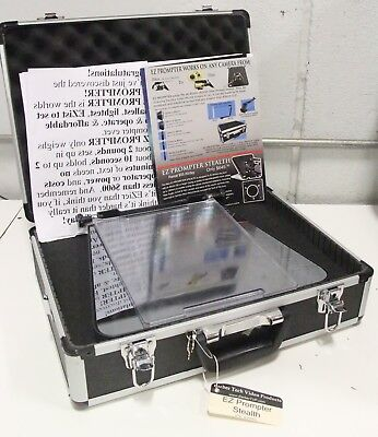 Teleprompter EZ  Prompter Stealth by Eddie Barber Video Production