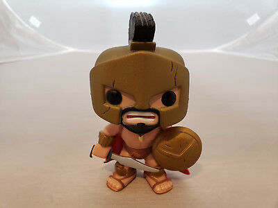 KING LEONIDAS Funko Pop #16 300 Spartans MOVIE Vaulted RETIRED - FREE SHIPPING!