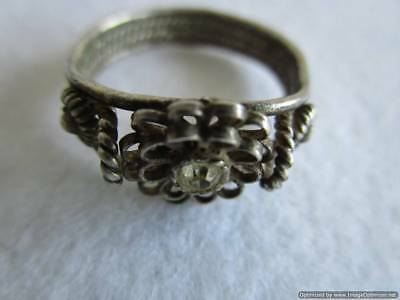 Old Russian Silver Ring, 3.28 g, end of the 19th century, rare, authentic, RRRI!