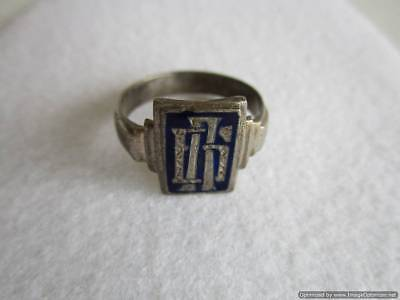 Old Russian Silver Ring, 3.94 g, end of the 19th century, rare, authentic, RRRI!