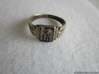 Old Russian Silver Ring, 2.45 g, end of the 19th century, rare, authentic, RRRI!