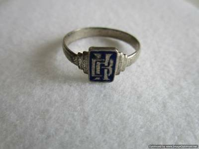 Old Russian Silver Ring, 1.90 g, end of the 19th century, rare, authentic, RRRI!