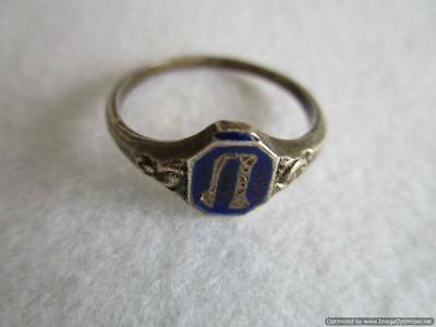 Old Russian Silver Ring, 2.20 g, end of the 19th century, rare, authentic, RRRI!