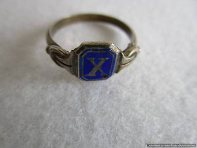 Old Russian Silver Ring, 1.78 g, end of the 19th century, rare, authentic, RRRI!