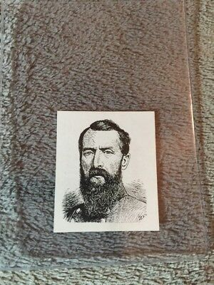 1910's Colgan Gum Confederate Portrait Card - Samuel Jones Virginia #64