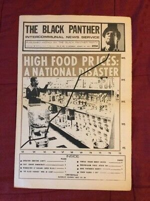 1973 The Black Panther - Newspaper - Complete Issue