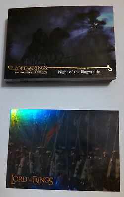 Lord of the Rings Trading cards lot of 33 includes 1 foil