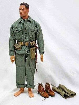 DID WWII USMC 1st Marine Regiment George Puller Loose 1:6 Scale 12 Inch Figure