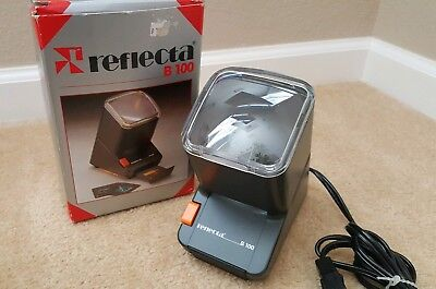 Reflecta Model B 100 Single Slide Viewer Used in Excellent Condition