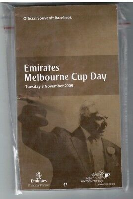 2009 Melbourne Cup Official Race Book - Shocking - Horse Racing